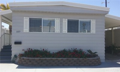San Clemente Mobile Home For Sale: 107 Bay Drive