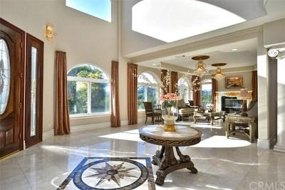 La Habra Heights Single Family Home For Sale: 215 E Avocado Crest Road