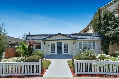 Belmont Heights (Bh) Single Family Home For Sale: 271 Redondo Avenue