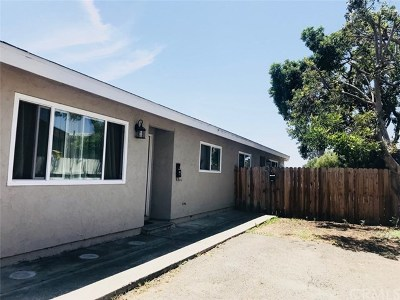 San Diego Multi Family Home Active Under Contract: 1148 Cotton Street