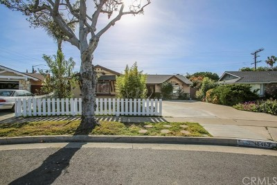 Fountain Valley Single Family Home For Sale: 18463 Basswood St