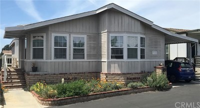 Fountain Valley Mobile Home For Sale: 713 Catalpa Lane