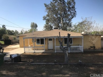 Norco Single Family Home For Sale: 3620 Temescal Avenue