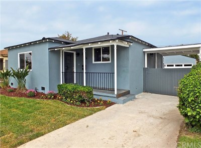 Long Beach Single Family Home For Sale: 2108 Baltic Avenue