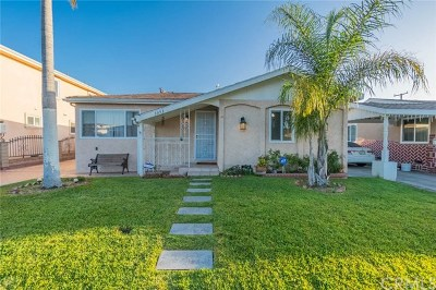 Hawthorne Single Family Home For Sale: 3353 W 133rd Street