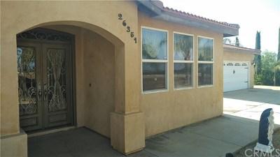 Menifee Single Family Home For Sale: 26351 Wheat Street
