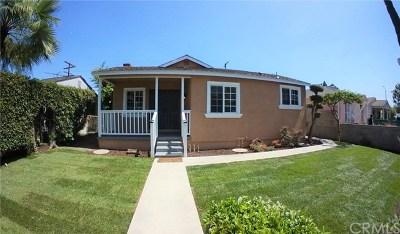 Los Angeles Single Family Home For Sale: 8871 Cattaraugus Avenue