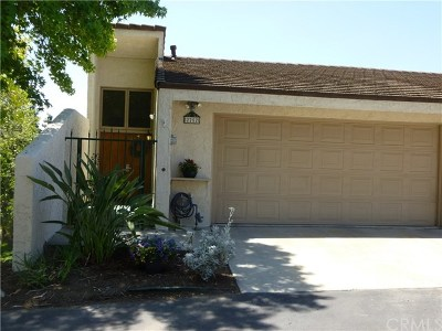 Fullerton Condo/Townhouse For Sale: 2252 Vista Del Sol