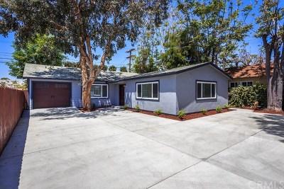 Burbank CA Single Family Home For Sale: $899,000