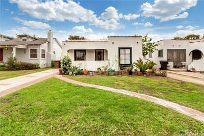Fullerton Single Family Home Active Under Contract: 1124 E Whiting Avenue