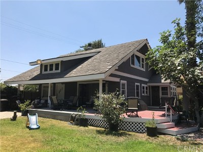 Fullerton Single Family Home Active Under Contract: 1513 S Brookhurst Road
