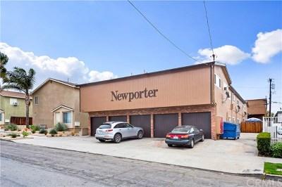 Long Beach Multi Family Home For Sale: 1750 Newport Avenue