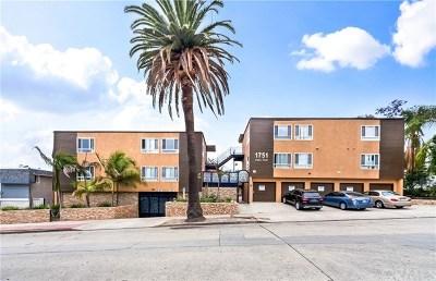 Long Beach Multi Family Home For Sale: 1751 Loma Avenue