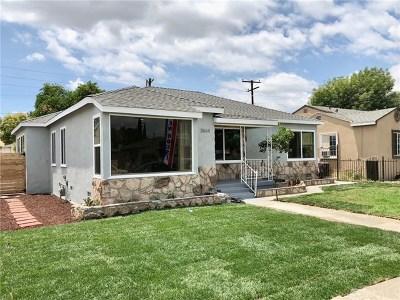 Lynwood Single Family Home For Sale: 3864 Cortland Street