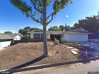Orange Single Family Home For Sale: 3023 N Fairbairn Street