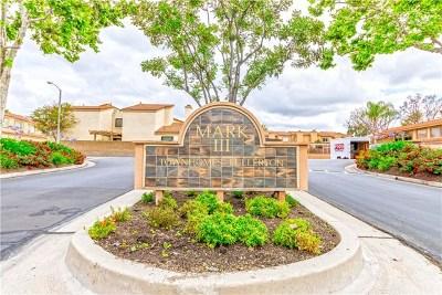 Fullerton Condo/Townhouse For Sale: 1417 Vista Grande #120