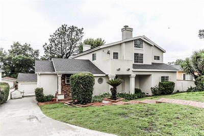 La Crescenta Single Family Home For Sale: 3136 Los Olivos Lane