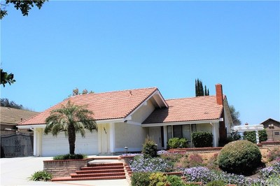 San Dimas Single Family Home Active Under Contract: 1377 Calle Galante