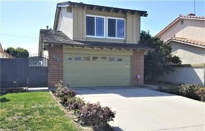 Fountain Valley Single Family Home For Sale: 8974 La Dona Court
