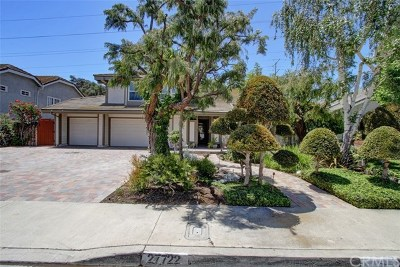 San Juan Capistrano Single Family Home For Sale: 27722 Paseo Barona