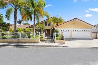 Anaheim Hills CA Single Family Home For Sale: $1,100,000