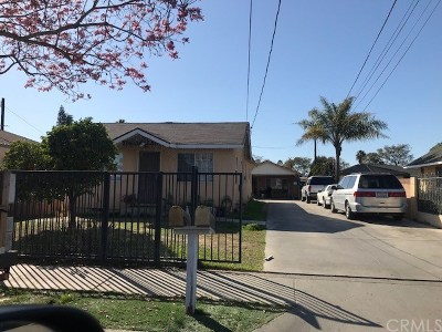 Santa Ana Multi Family Home For Sale: 626 N Figueroa Street