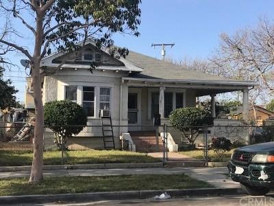 Santa Ana Multi Family Home For Sale: 1401 W 3rd Street