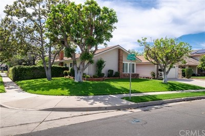 Placentia Single Family Home For Sale: 701 Hollyhock Lane