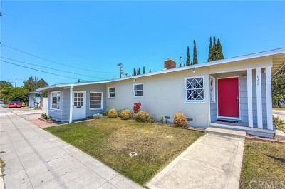 Orange Single Family Home For Sale: 945 N Glassell Street