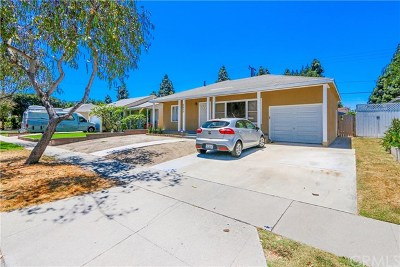 Lakewood Single Family Home For Sale: 5613 Pimenta Avenue