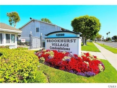 Orange County Condo/Townhouse For Sale: 1250 S Brookhurst Street #2089