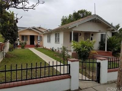 Long Beach Multi Family Home For Sale: 1471 Gaviota Avenue