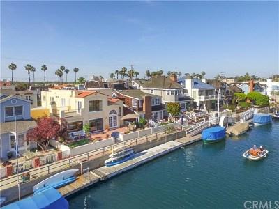 Long Beach Single Family Home Active Under Contract: 77 Rivo Alto Canal