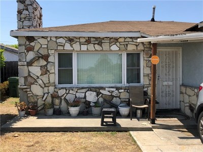 Compton Single Family Home For Sale: 2608 W Claude Street
