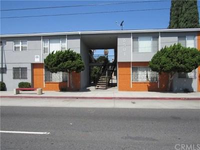 Long Beach Multi Family Home For Sale: 6501 Cherry Avenue