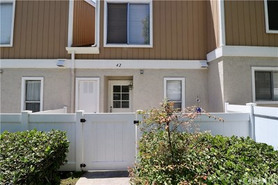 Aliso Viejo Condo/Townhouse For Sale: 42 Birchwood Lane