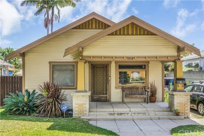 Long Beach Single Family Home For Sale: 3618 Lemon Avenue