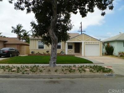 Norwalk Single Family Home For Sale: 14033 Lefloss Avenue