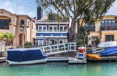 Long Beach Single Family Home For Sale: 42 Rivo Alto Canal