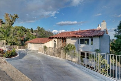 La Habra Heights Single Family Home For Sale: 508 Green View Road