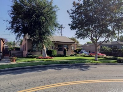 Whittier CA Single Family Home For Sale: $550,000