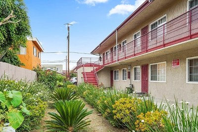 Long Beach Multi Family Home For Sale: 1038 Orange Avenue