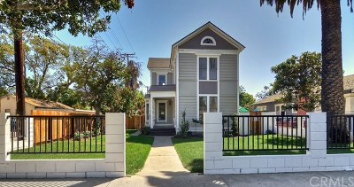Santa Ana Single Family Home For Sale: 212 E Chestnut Avenue