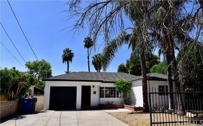 San Fernando Single Family Home For Sale: 12767 Bromont Avenue