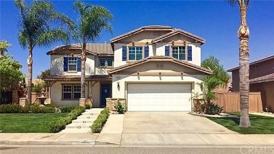 Corona Single Family Home For Sale: 10450 Whitecrown Circle