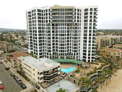 Long Beach Condo/Townhouse For Sale: 1310 E Ocean Boulevard #1102