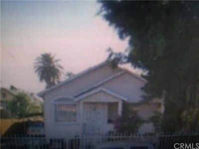 Los Angeles Multi Family Home Active Under Contract: 1620 E 33rd Street
