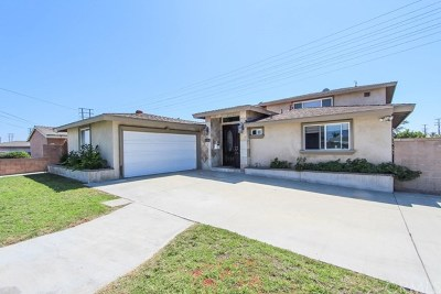 Garden Grove Single Family Home For Sale: 11501 Mac Street