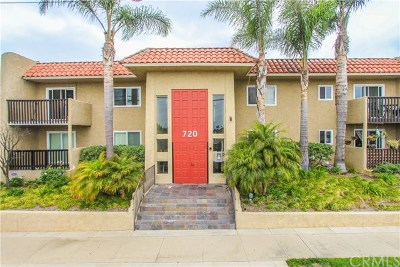 Redondo Beach Condo/Townhouse For Sale: 720 Meyer Lane #102