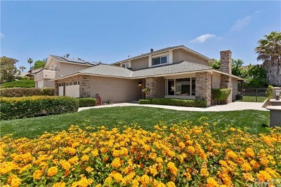 Mission Viejo Single Family Home Active Under Contract: 24852 Acropolis Drive